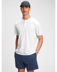 Gap Henley T-shirt - White