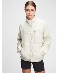 Gap Fit Polar Fleece Jacket - Natural