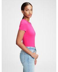 Gap Crewneck Bodysuit - Pink