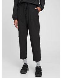 Gap Fit Barrel Commuter Sweatpants - Black
