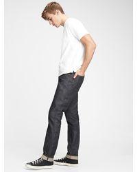 Gap Selvedge Slim Jeans - Blue
