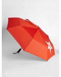 Gap Print Umbrella - Red