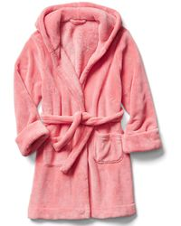 Gap Fleece Sleep Robe - Pink