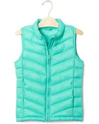 Gap Coldcontrol Lite Quilted Vest - Green