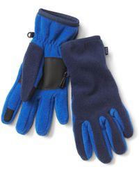 Gap Pro Fleece Tech Gloves - Blue