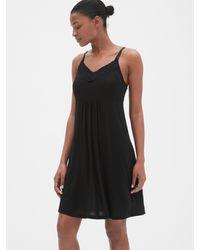 Gap Maternity Nursing Nightgown - Black