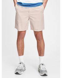"Gap 7"" Easy Linen Shorts With E-waist - Natural"