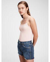 Gap Organic Cotton Tank Bodysuit - Blue