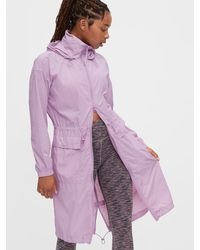 Gap Fit Upcycled Parka - Purple