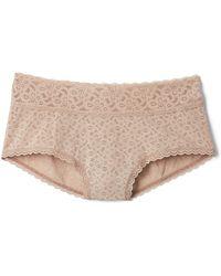 Gap Lace Shorty - Natural