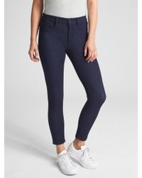 Gap - Soft Wear Mid Rise Knit Favorite Jeggings - Lyst