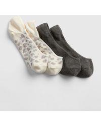 Gap No-show Socks (2-pack) - Gray
