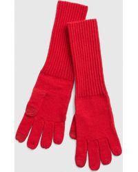 Gap Cozy Smartphone Gloves - Red