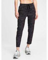 Gap Fit Recycled Runaround Sweatpants - Black