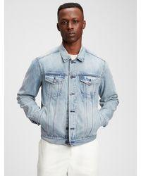 Gap Icon Denim Jacket With Washwelltm - Blue
