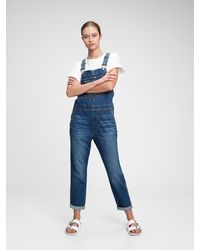 Gap Slouchy Overalls With Washwelltm - Blue