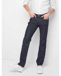 1eeb2efd4bab6 Lyst - Gap 1969 Skinny Jeans (tallahassee Wash) in Gray for Men