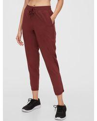 Gap Fit Runaround Sweatpants - Red