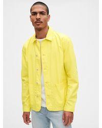 Gap Chore Jacket - Yellow