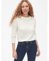 08e6f96ce6 Lyst - Isabel Marant Lacy Textured Cotton And Wool-blend Jumper in ...