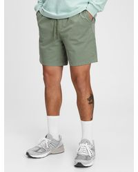 "Gap 7"" Easy Shorts With E-waist - Green"