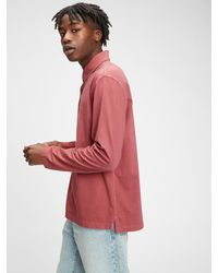 Gap Vintage Soft Polo Shirt Shirt - Multicolor