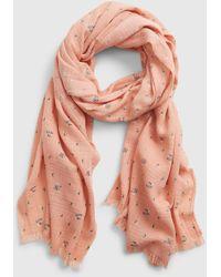 Gap Oblong Scarf - Pink