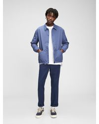 Gap Nylon Coaches Jacket - Blue
