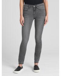 Gap - Soft Wear Mid Rise True Skinny Jeans - Lyst