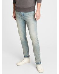 Gap Easy Temp Slim Taper Jeans With Flex - Blue