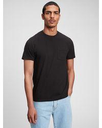 Gap Pocket T-shirt - Black