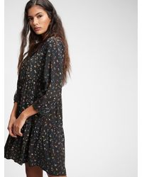 Gap Trapeze Dress - Black