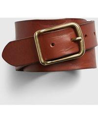 Gap Classic Leather Belt - Brown