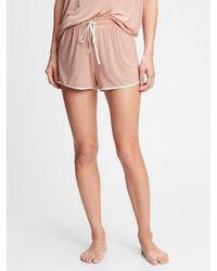 Gap Adult Truesleep Shorts In Modal - Pink