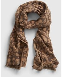 Gap Recycled Cozy Scarf - Brown