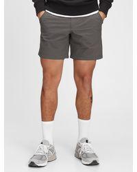"Gap 6"" Tech Shorts With Flex - Black"