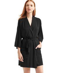 Gap Modal Robe - Black
