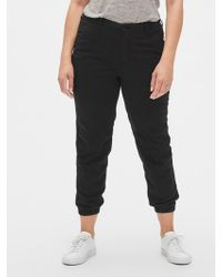 Gap Girlfriend Chino Pant Sweatpants - Black