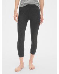 Gap Pure Body Crop Sleep Leggings - Grey