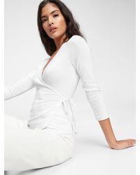 Gap Wrap T-shirt - White