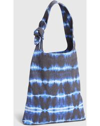 Gap Knotted Canvas Tote - Blue
