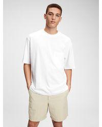 Gap Oversized Pocket T-shirt - White