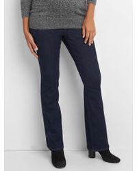 Gap Maternity Full Panel Perfect Boot Jeans - Blue