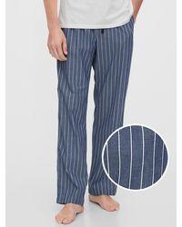 Gap Pajama Pants - Blue