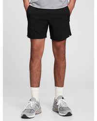 Gap Fit Recycled Running Shorts - Black