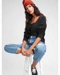 Gap Vintage Soft Cropped Cardigan - Black