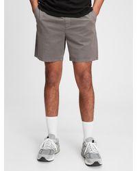 "Gap 7"" Easy Shorts With E-waist - Black"
