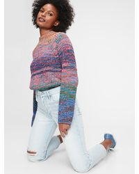 Gap Marled Turtleneck Sweater - Multicolor
