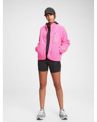 Gap Fit Polar Fleece Jacket - Pink