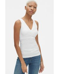 cab2f939faa Ingrid & Isabel Ingrid & Isabel 'everyday' Seamless Maternity Camisole in  White - Save 50% - Lyst